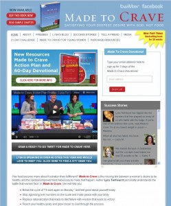 Made to Crave Website